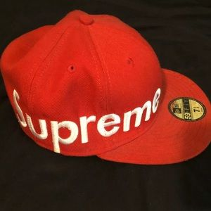 Supreme x New Era Fitted